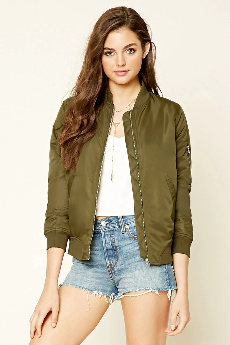 8bfa34c45 5 BOMB Bomber Jackets From Forever21! – Street Style Chic